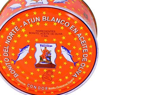 Albacore tuna in olive oil - La Belle-Iloise