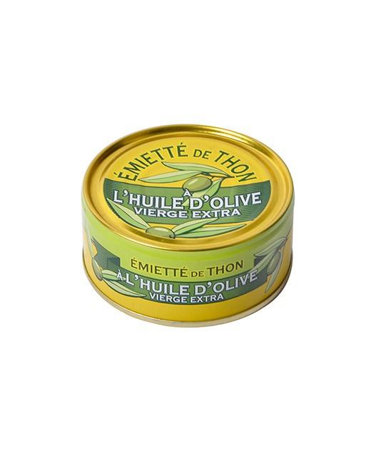 Crumbled Tuna with olive oil