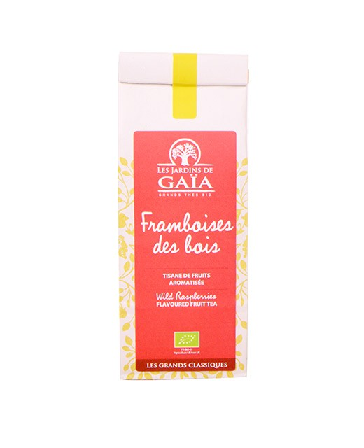 Herbal Tea Framboises des bois - Jardins de Gaïa (Les)