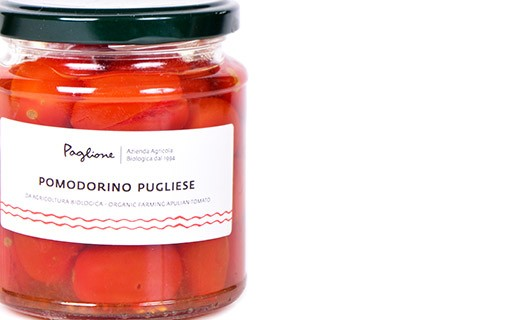 Whole cherry tomatoes from Apulia - Paglione