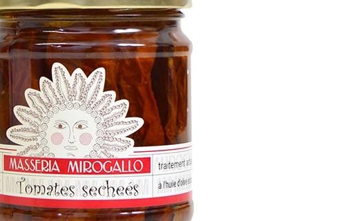 Dried tomatoes in olive oil - Masseria Mirogallo
