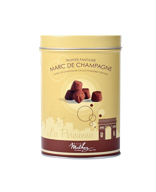 Chocolate truffles - Marc de Champagne - Collection Les Parisiennes