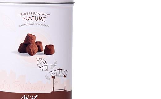 Chocolate truffles - Nature - Collection Les Parisiennes - Mathez