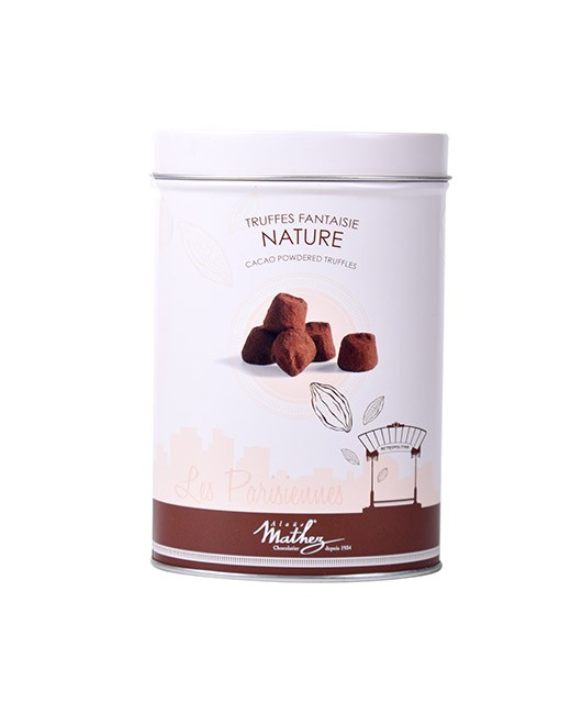 Chocolate truffles - Nature - Collection Les Parisiennes - Mathez