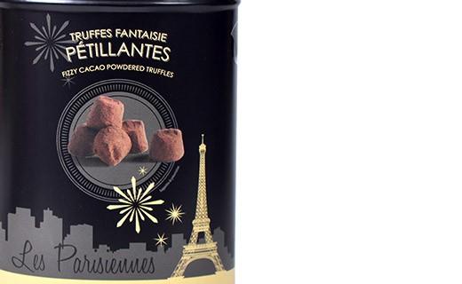 Chocolate  truffles - Sparkling - Collection Les Parisiennes - Mathez