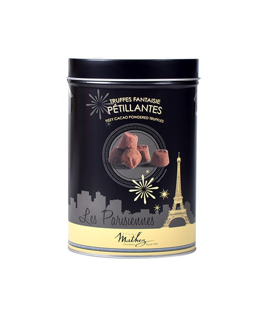 Chocolate  truffles - Sparkling - Collection Les Parisiennes - Mathez