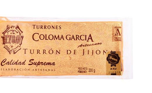 Jijona Turrón - Coloma Garcia