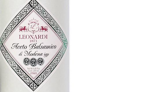 Balsamic Vinegar of Modena - 6 years old - 3 medals - Leonardi