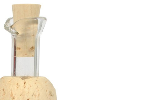 Cork and Glass Cap - Leonardi