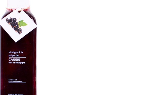 Burgundy blackcurrant pulp Vinegar - Libeluile