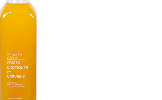 Vinegar with pulp of exotic fruits and verbena - Libeluile