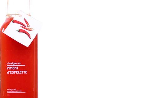Espelette chili pepper pulp Vinegar - Libeluile