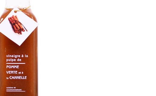 Cinnamon and apple pulp Vinegar - Libeluile