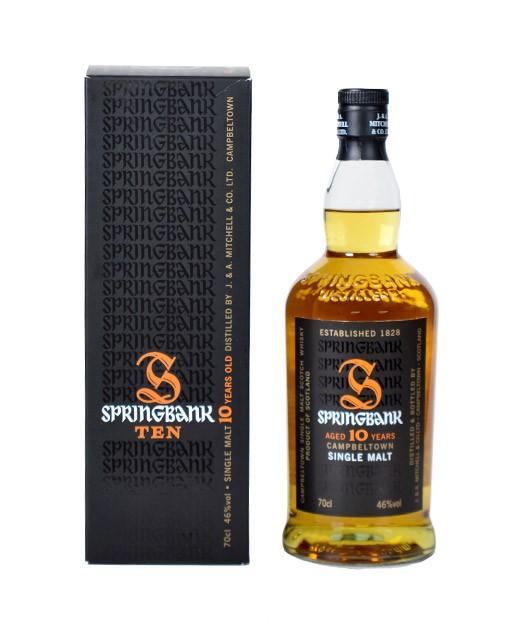 Springbank Whisky 10 years old - Springbank